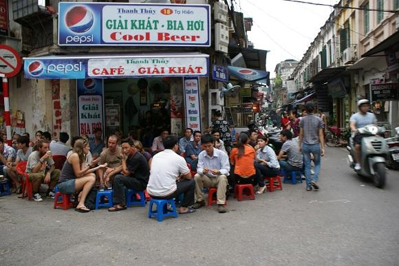 Ta Hien, Fresh beer street in Hanoi