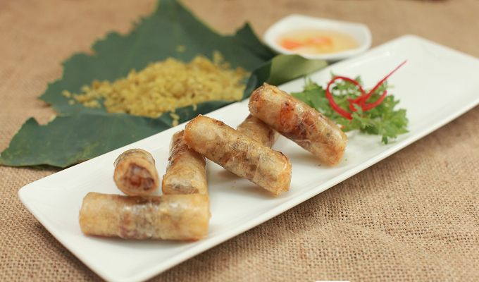 vietnamese vegetable spring roll