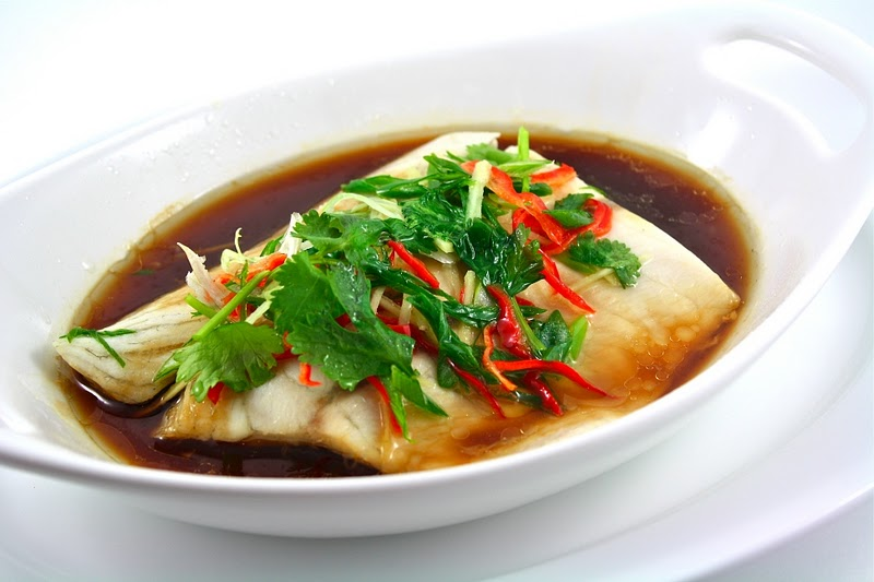 Hue steamed fish with soya sauce