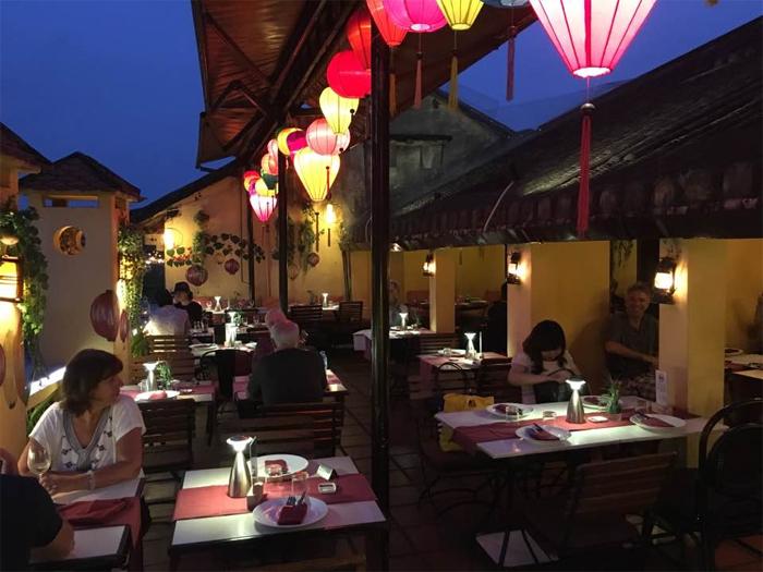 Cargo Club Restaurant at 107 -109 Nguyen Thai Hoc Str, Hoi An.