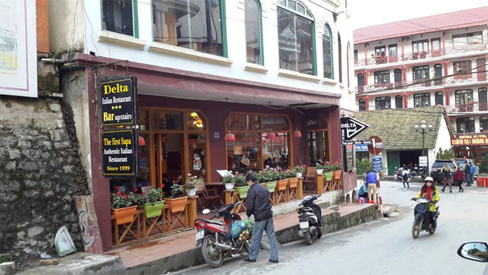 Delta Restaurant at 33 Cau May Str, Sapa