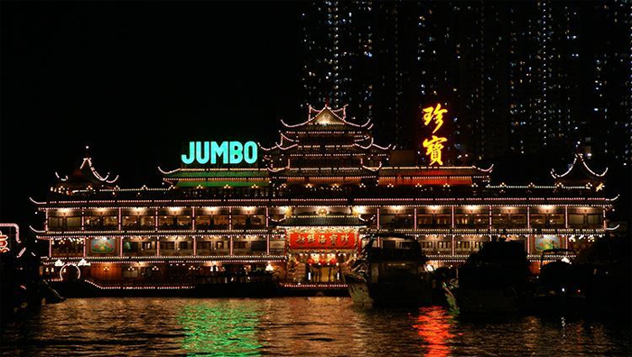 Jumbo Floating Restaurant in Halong