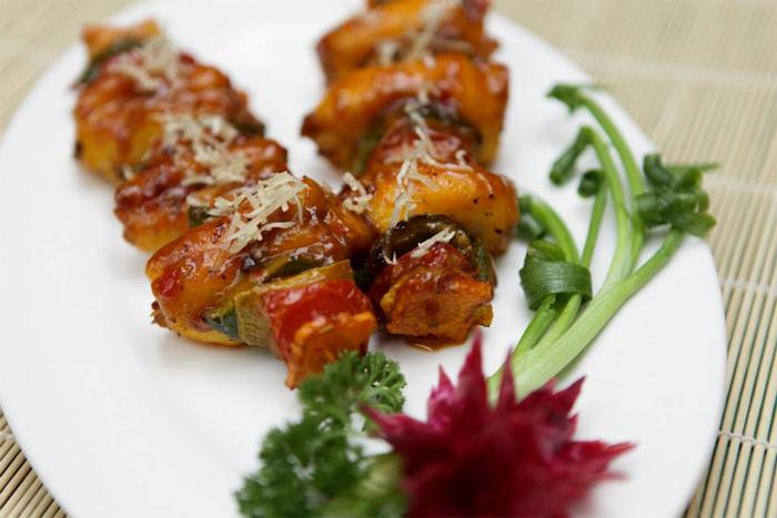 Food at Le Tonkin Restaurant - 14 Ngo Van So Str, Hoan Kiem Dist, Hanoi