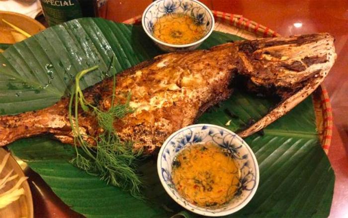 Food at Mai Anh Restaurant in 1/26 Tran Quang Khai Str, Nha Trang