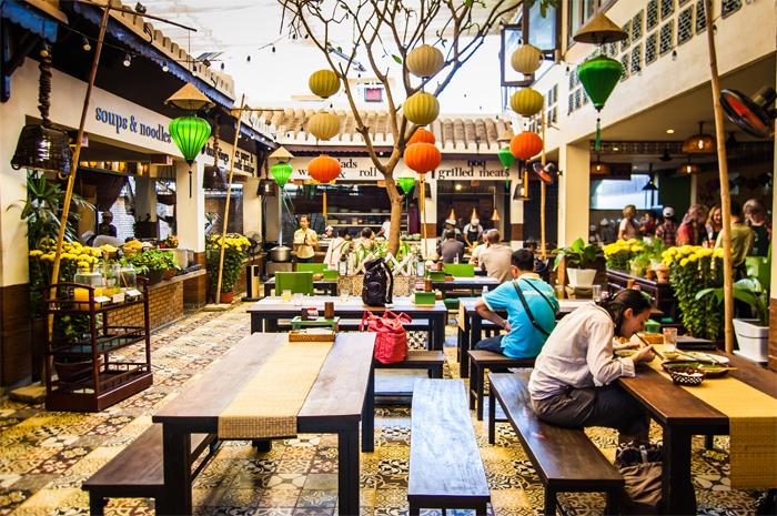 The Market Restaurant at 3 Nguyen Hoang Street, Hoi An,