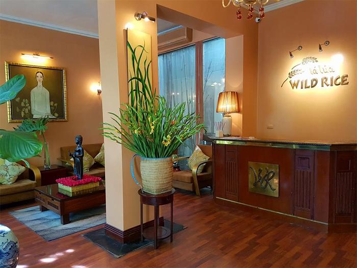 Wild Rice Restaurant at 06 Ngo Thi Nham Str, Hai Ba Trung Dist, Hanoi