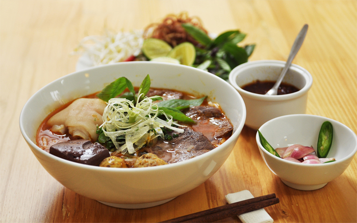 Bun Bo Hue Recipes, Hue Beef Rice Noodle, Vietnamese Food