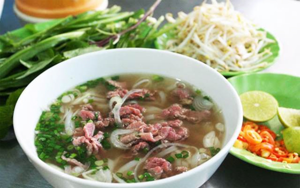 Pho Bo - Noodles soup with beef