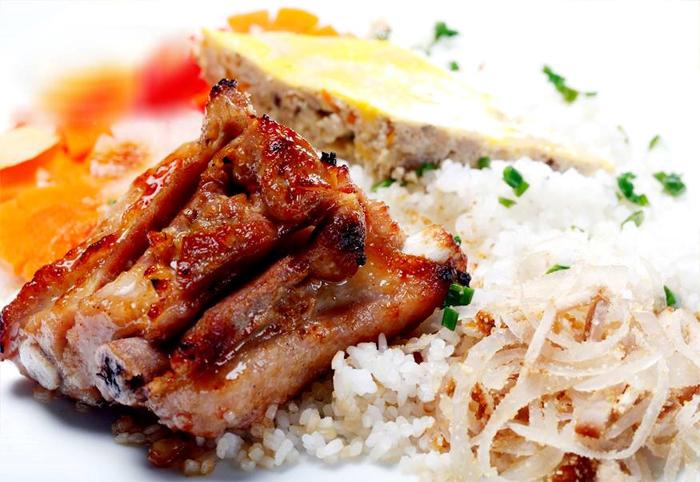 Cơm Tấm - Saigon broken rice dish