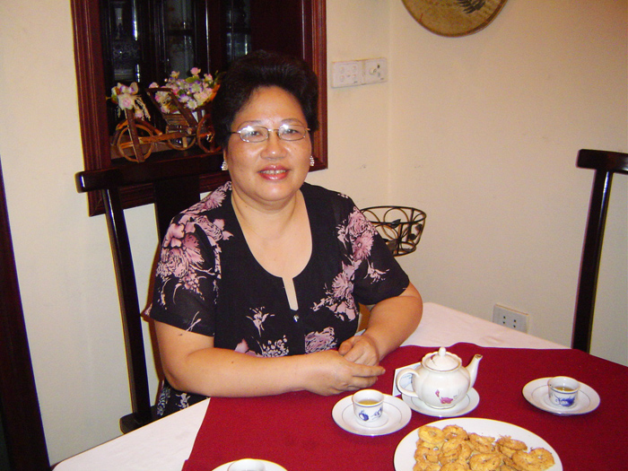 Mrs.Pham Anh Tuyet - the specialist of Hanoi Traditional Cuisine