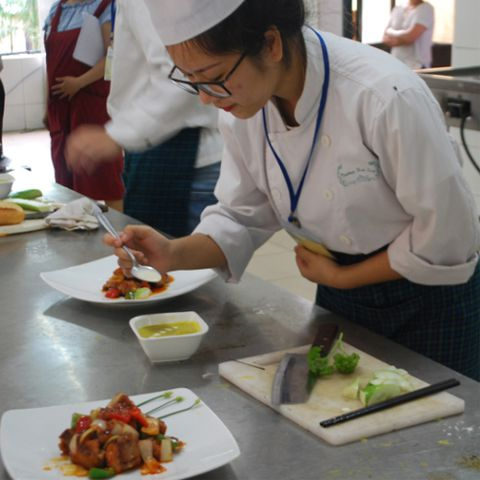 Cooking Class at Hoa Sua School, Hanoi