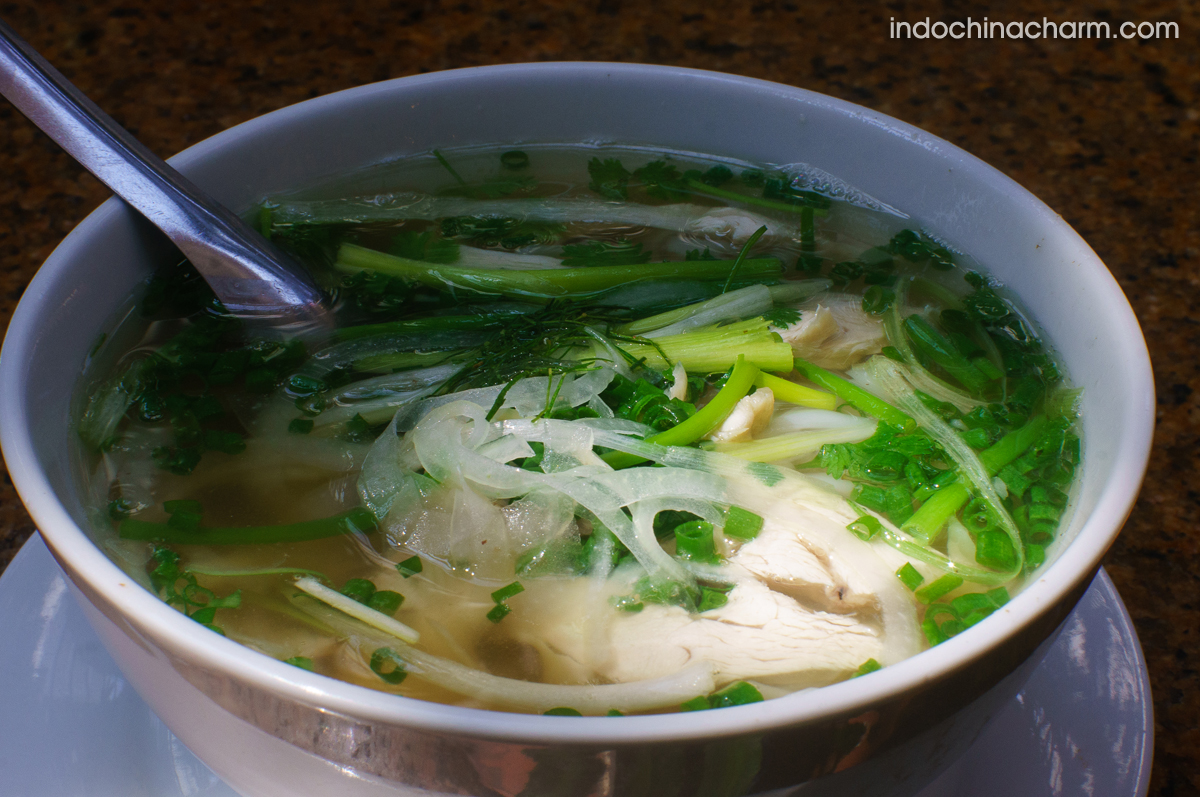 Pho Ga - Noodles with chicken