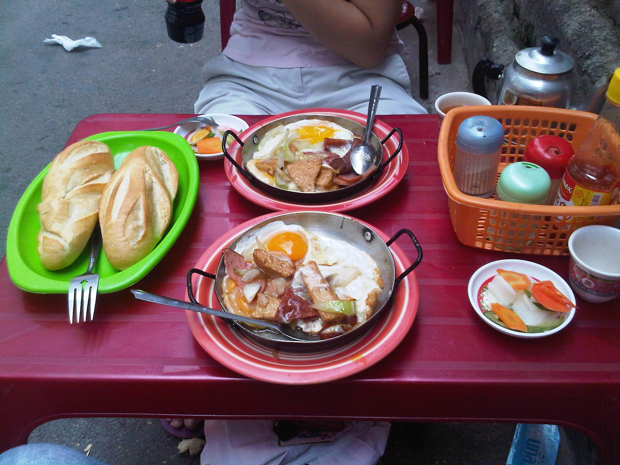 "Sandwich Shop ""Hoa Ma' in Saigon"