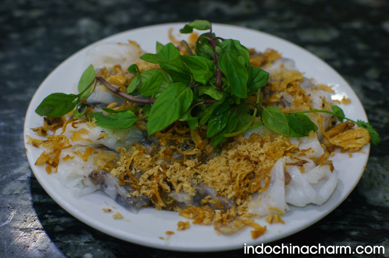 Banh Cuon - the steam pancake