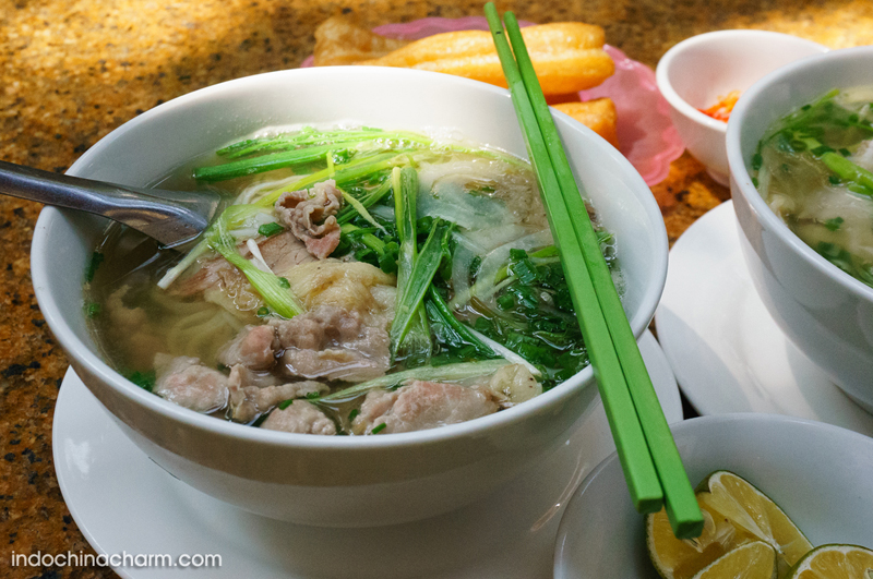 Phở Bò Hà Nội - Hanoi noodles soup with beef