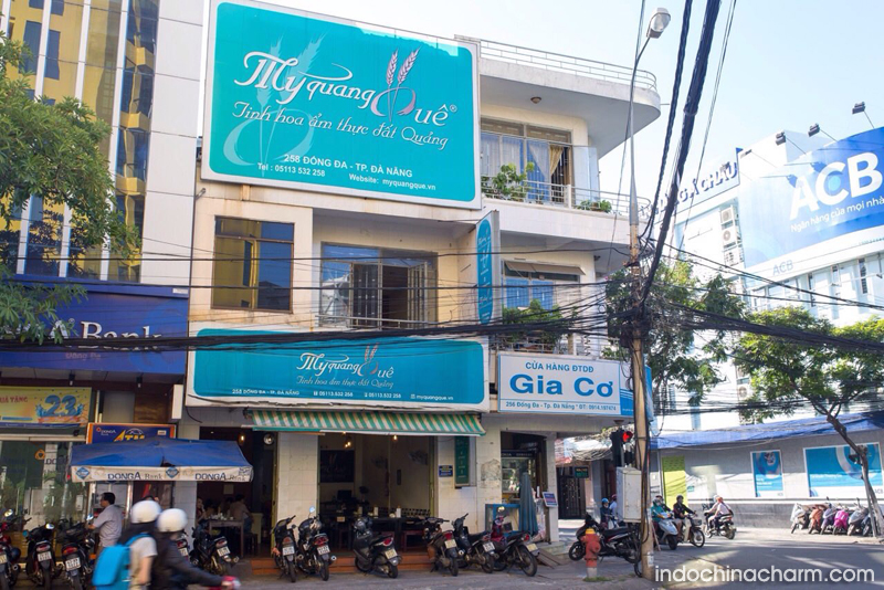 Mỳ Quảng Quê restaurant in Da Nang City