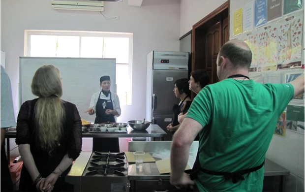 Cooking class at KOTO Hanoi