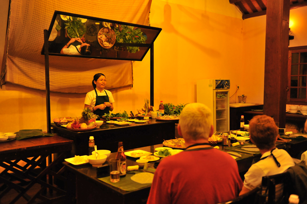 Hoi An Cooking Class with Ms.Vy at The Market Restaurant