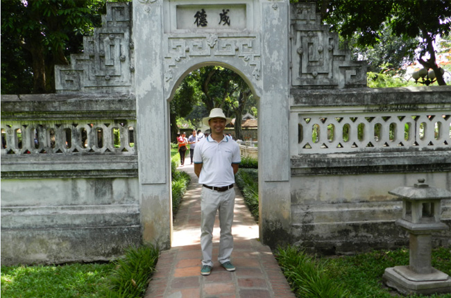 Duc - Our tour guide in the North of Vietnam