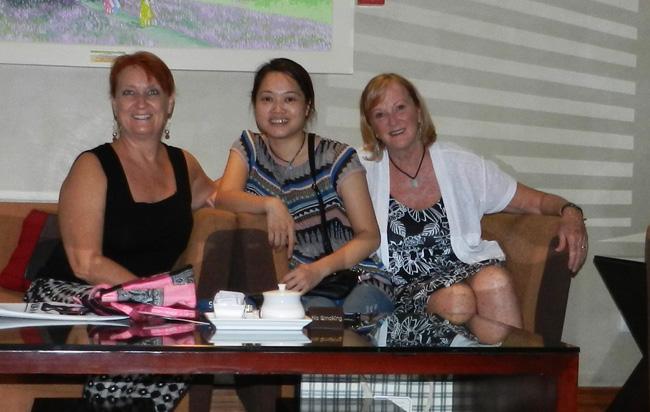 Deborah and Robin with Vietnam Culinary Travel Agency