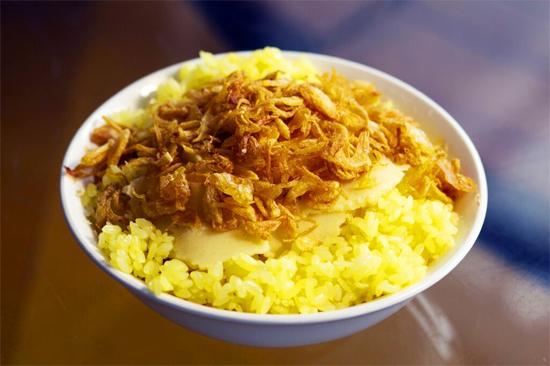 Xoi Xeo (a kind of sticky rice)