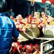 At chicken whole sales market in Saigon