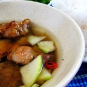 Bun Cha – one of two most popular local food in Hanoi