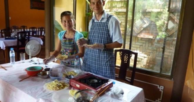 Cooking Class In Y Thao Garden