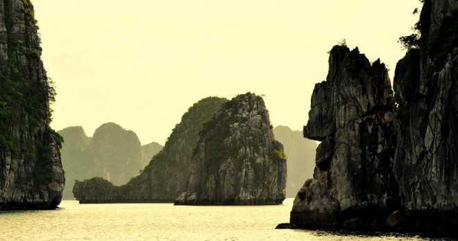 Halong Bay the wonder of nature