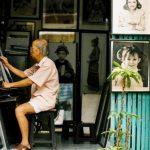In the Old Quarter of Hanoi