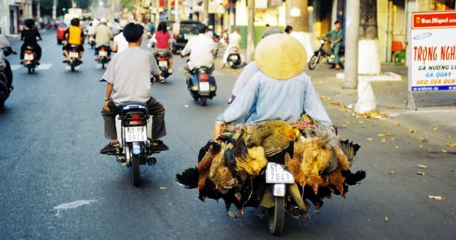 Daily Traffic in Saigon