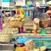 Regular Scene at Cai Rang Floating Market, Mekong Delta