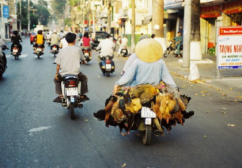 Trafic in China Town, Saigon