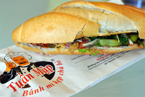 Banh Mi Tuan Map in Best Saigon Street Food list!