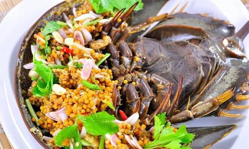 Sam - Horseshoe Crab in Halong Bay
