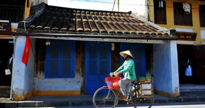 One of the street in Hoi An Ancient Town