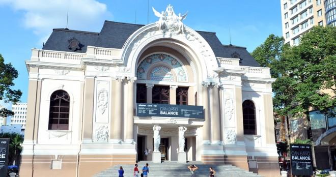The Opera House in Saigon