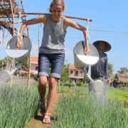Experience farmer life at Tra Que Village