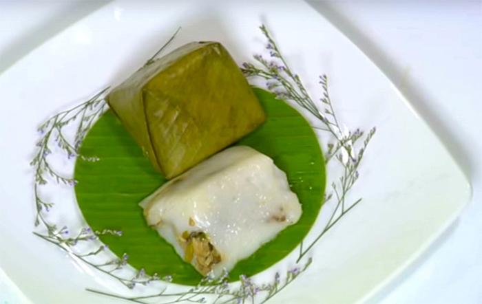Pyramidal Rice Dumpling (Banh Giò)