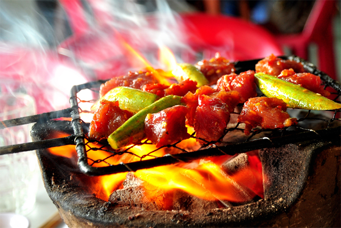 Lac Canh Grilled Beef in Nha Trang Vietnam