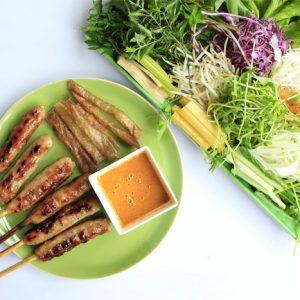Nha Trang Street Food - Nem Nuong