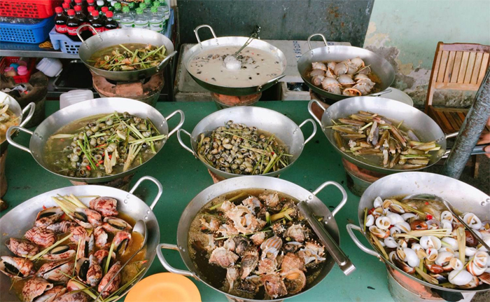 Pan-fried Snails in Nha Trang
