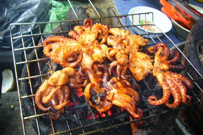 Grilled Seafood - Nha Trang local Street Food