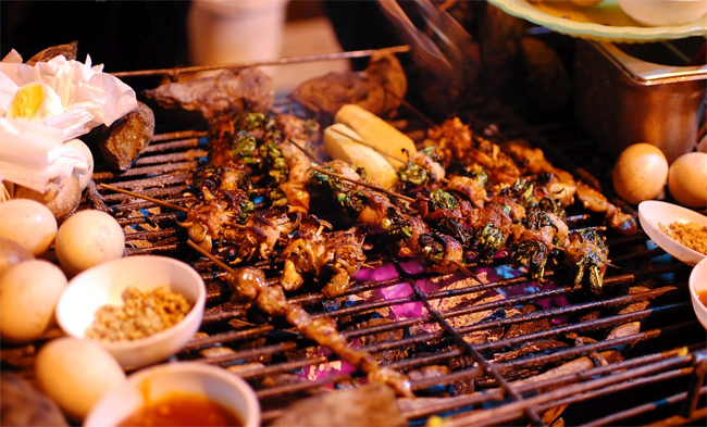 Grilled Dishes in Sapa