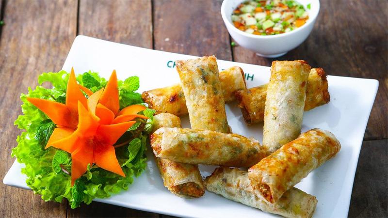 Nem Ran - Vietnamese Spring Roll