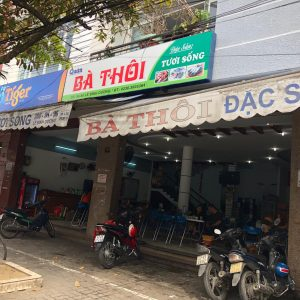 Ba Thoi - One of traditional seafood restaurant in Da Nang