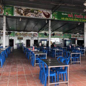Ba Thoi 3 Restaurant - Simple furnitures