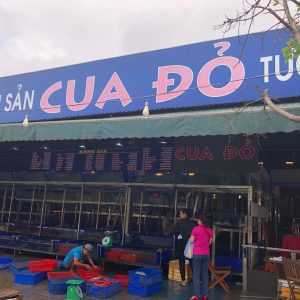 Cua Do seafood restaurant in Da Nang City