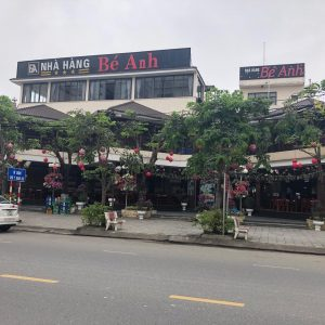 Be Anh - one of the modern feasfood restaurants in Da Nang City