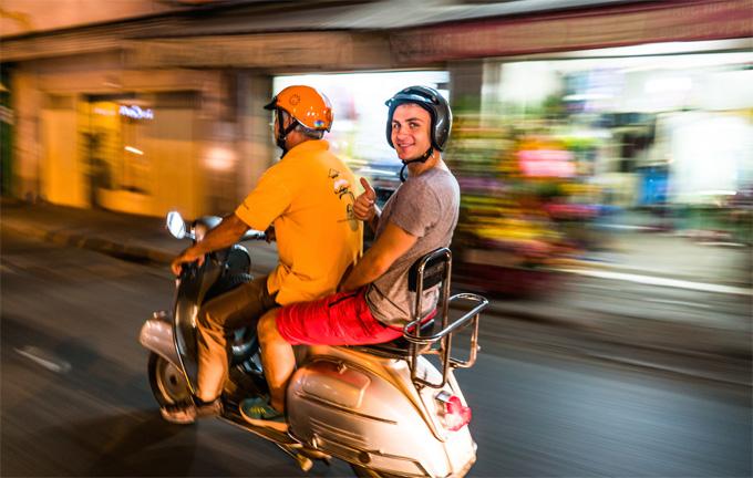 Saigon Street Food Tour by Vespas
